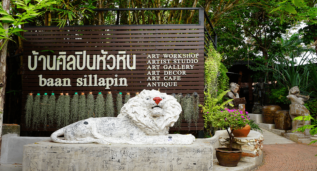 Hua Hin - Artists Village Baan Sillapin