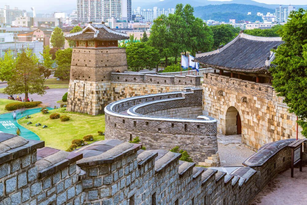 Hwaseong Fortress Wall