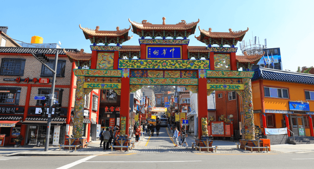 Incheon Airport - Chinatown