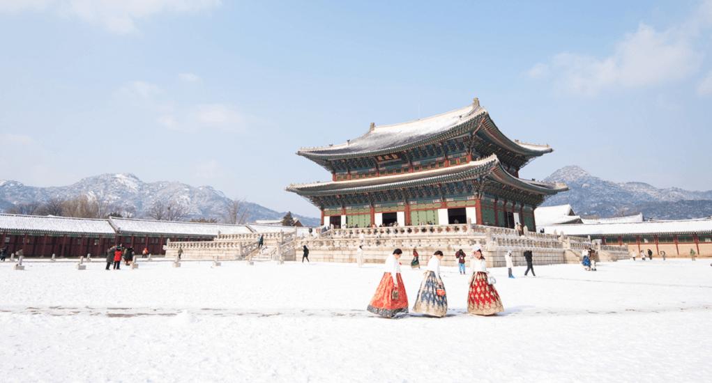 Incheon Airport - Gyeongbok Palace