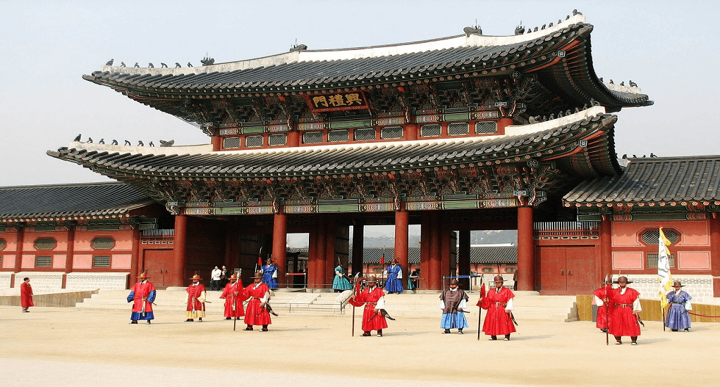 Incheon Airport - Gyeongbok Palace