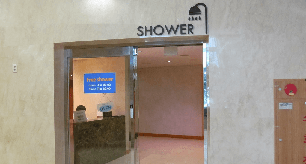 Incheon Airport - Shower Rooms