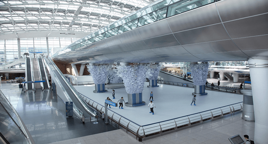 Incheon airport facility - Entertainment Spot