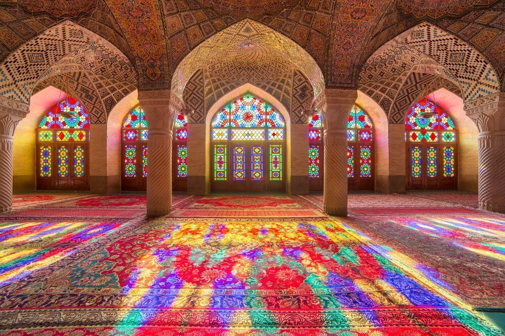 Beautiful mosque in Iran