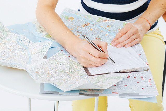buat Itinerary secara detail