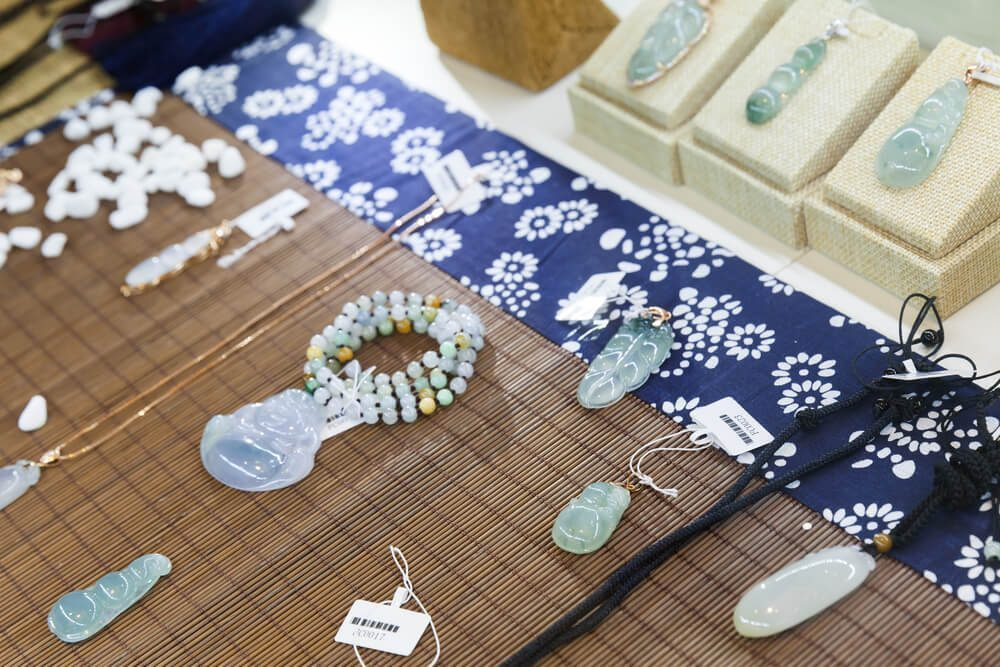 Jade is a precious stone that has a long spiritual history, and it's believed to bring luck and health