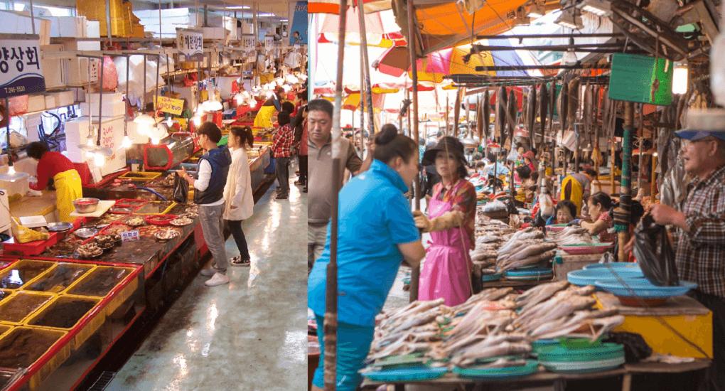 Jagalci Market - Terbagi Menjadi 2 Wilayah