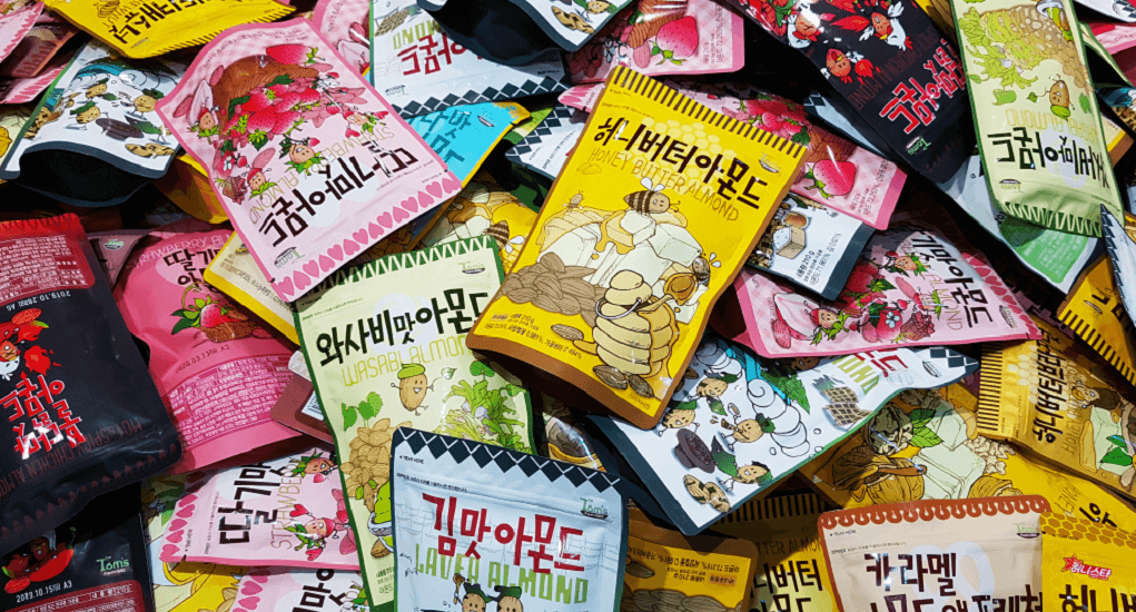 Jastip Korea - Snack Honey Butter Almond