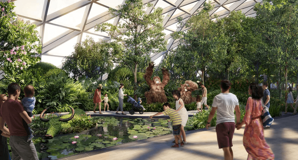 Jewel Changi Airport - Canopy Park