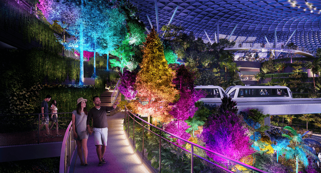 Jewel Changi Airport - Shiseido Forest Valley