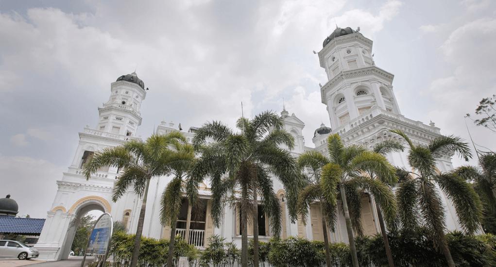 Johor Bahru - Sultan Abu Bakar State Mosque