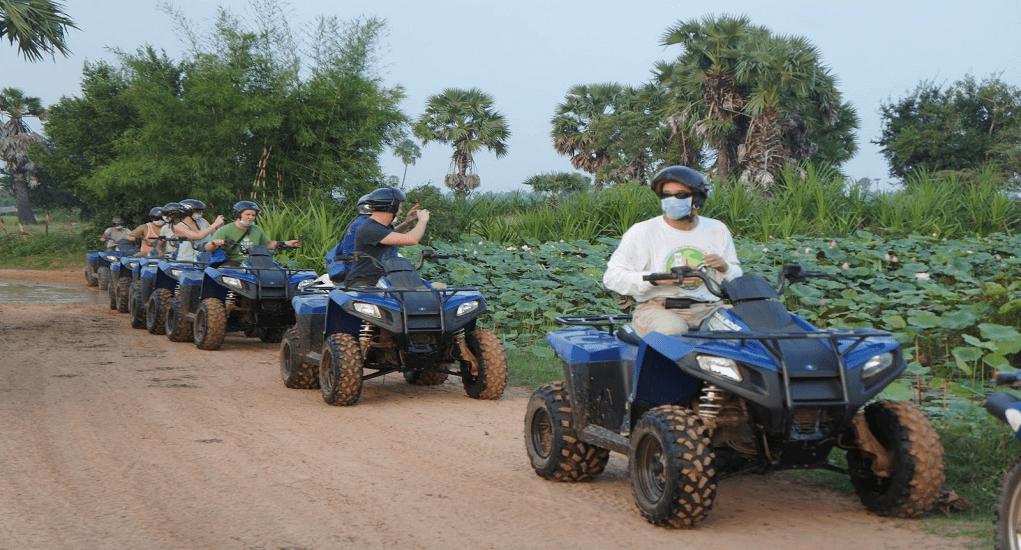 Kamboja - Quad Biking