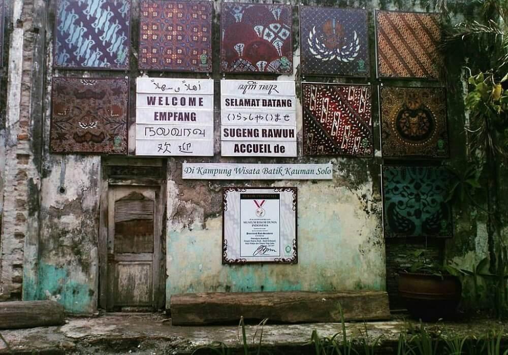 Wisata Solo ke Kampung Batik Kauman
