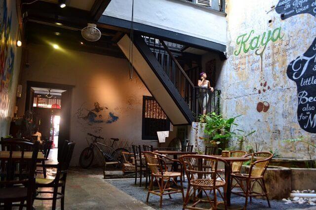 kaya kaya café in malacca