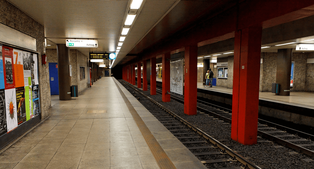 Konstablerwache station and Hauptwache station