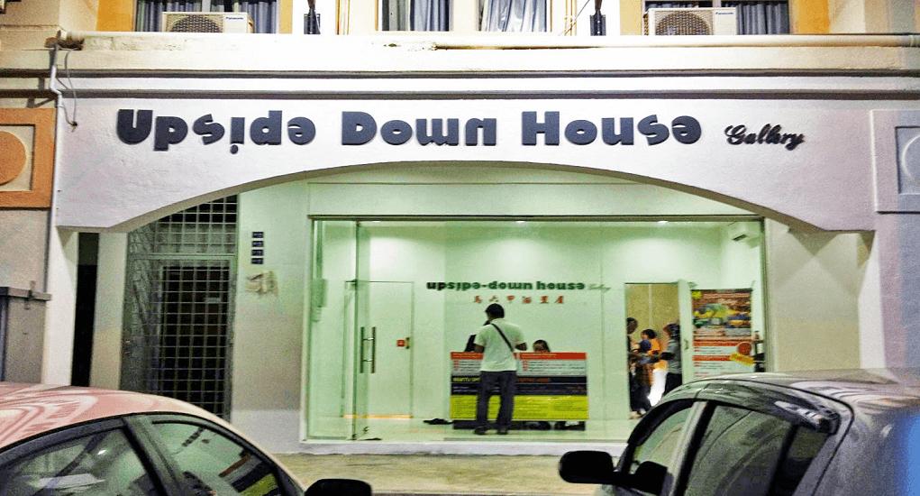 Kota Melaka - Upside Down House