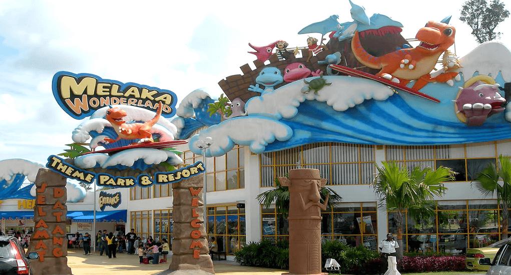 Kota Melaka - Wonderland Theme Park