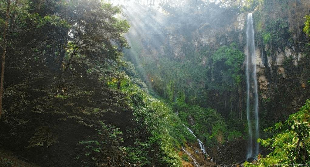 Kota Solo - Air Terjun Segoro Gunung