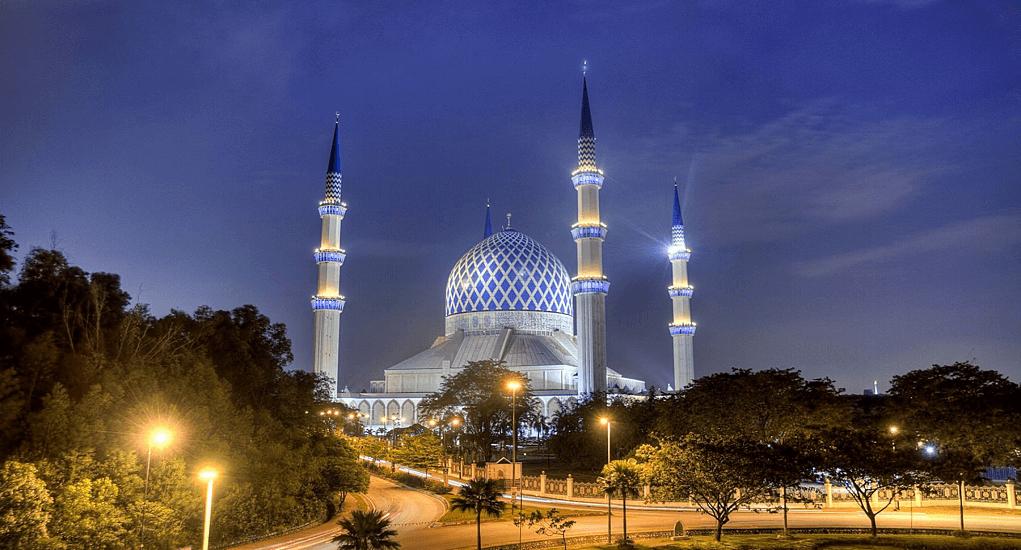 Kuala Lumpur - Sultan Salahuddin Abdul Aziz Shah Mosque