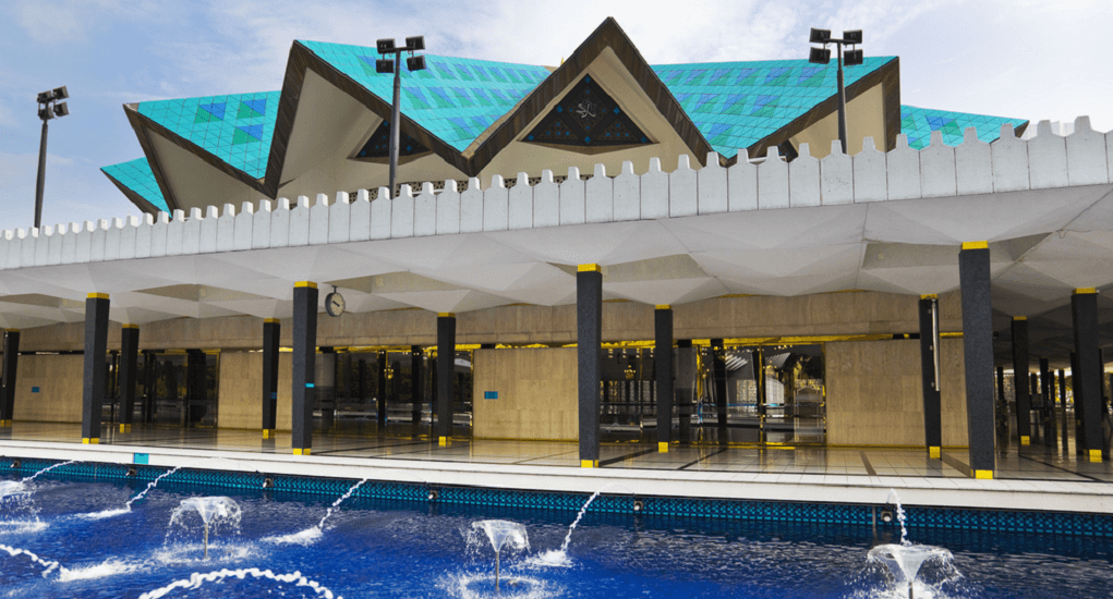 Kuala Lumpur - The National Mosque of Malaysia