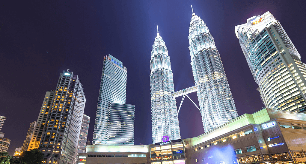 Kuala Lumpur - The Petronas Twin Towers