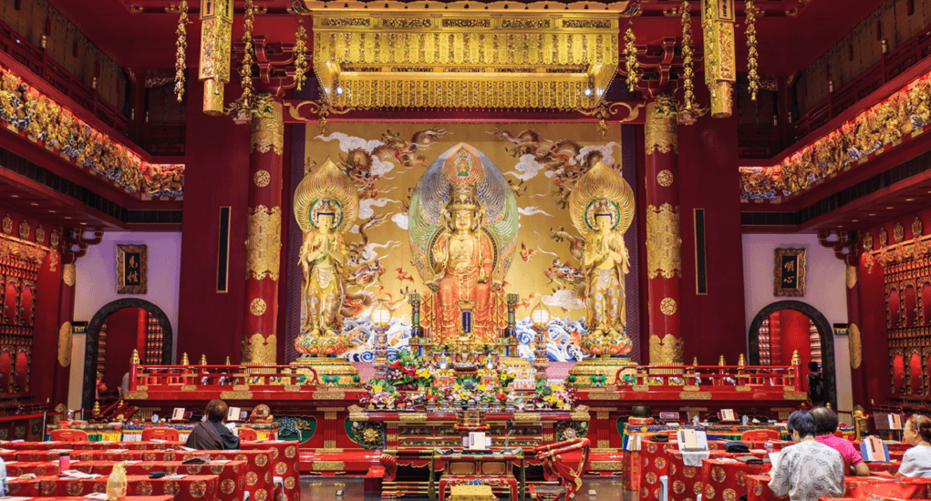 Kuil Buddha Tooth Relic - Akses Menuju Kuil Tooth Relic