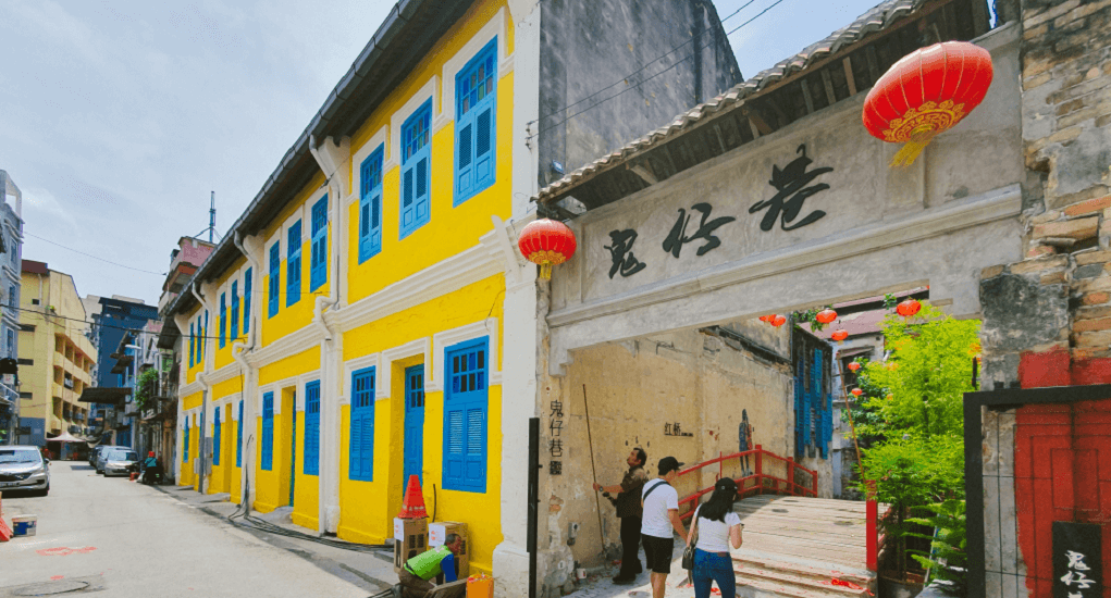 Kwai Chai Hong - Pengembangan Tempat Wisata yang Melibat 10 Ruko