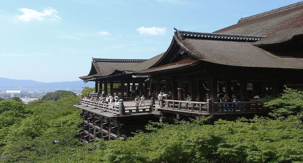 Kyoto Jepang - Kiyomizu temple