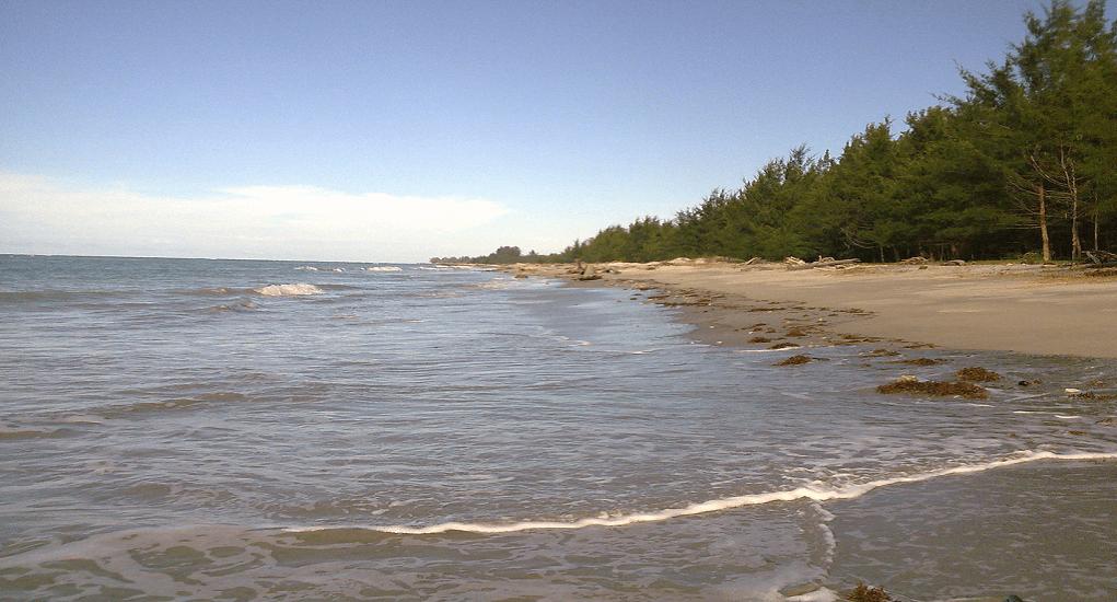 Labuan Beaches - Pancur Hitam Beach