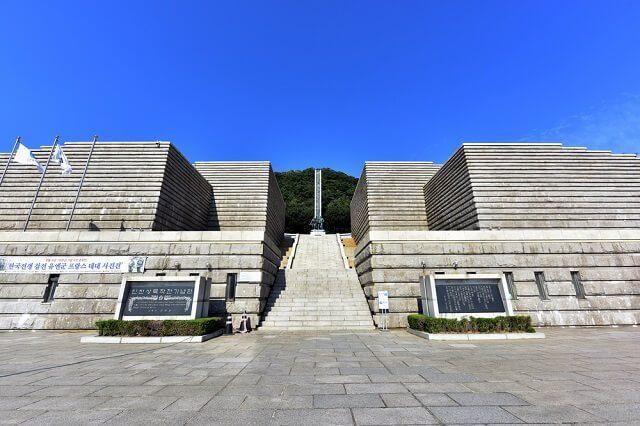 landing operation memorial hall