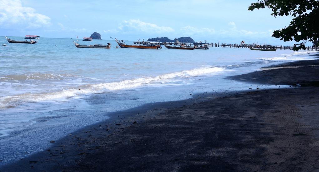 Langkawi Beach - Black Sand Beach