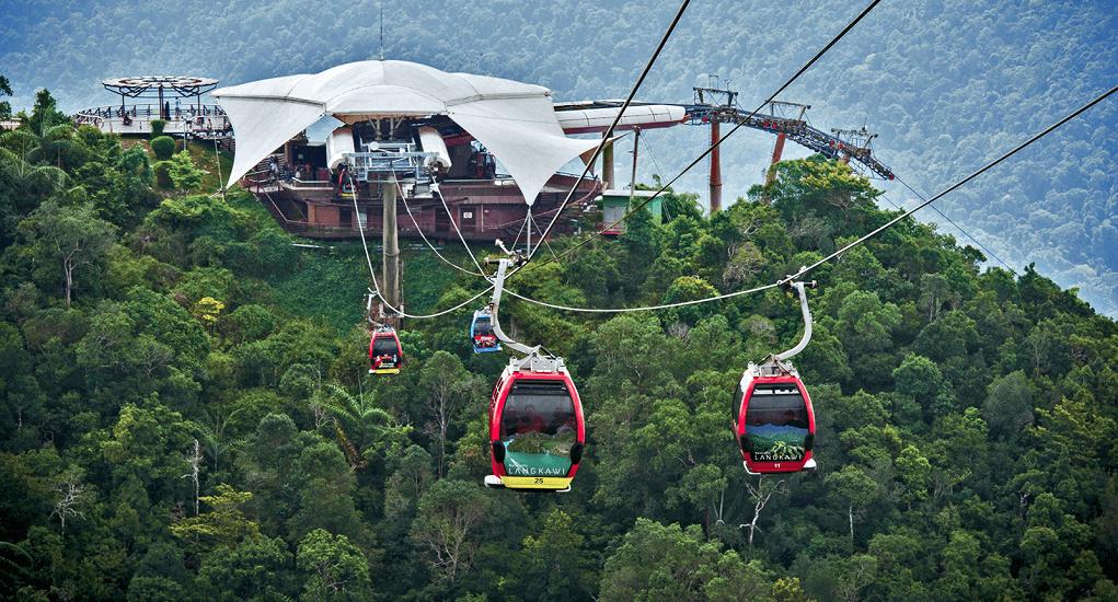Langkawi - Cable car