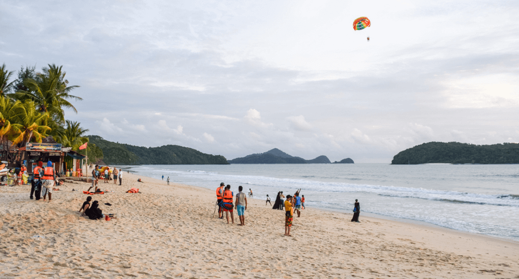 Langkawi - Pantai Tengah Beach