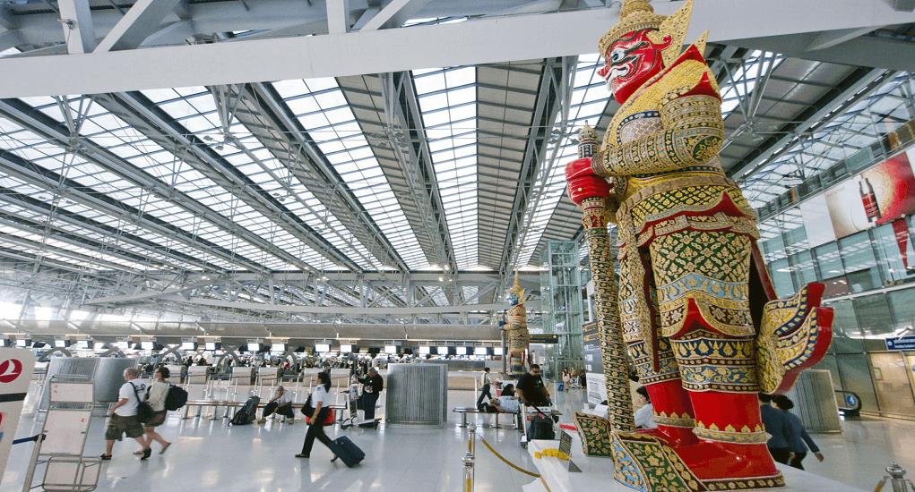 Layover at Suvarnabhumi Airport