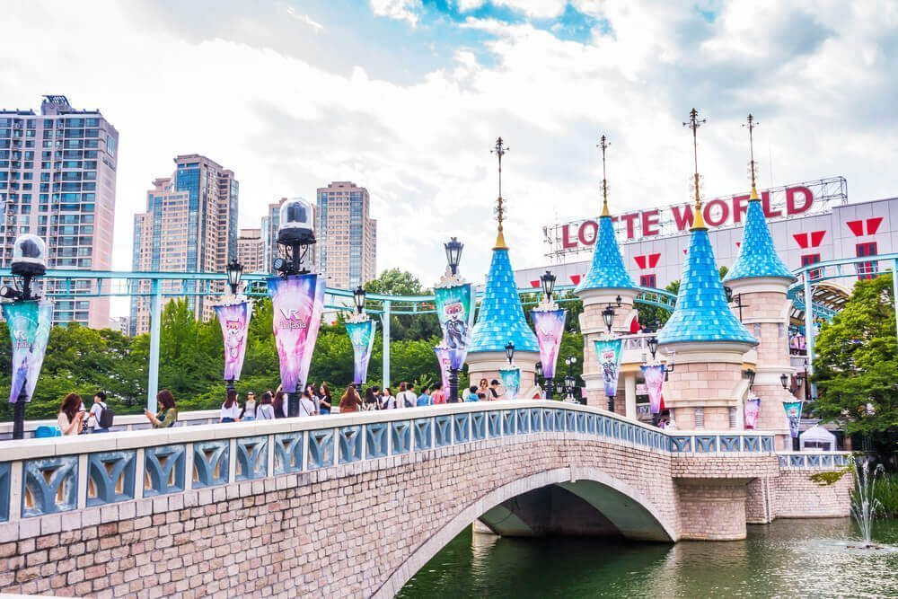 Lotte World or Everland Resort