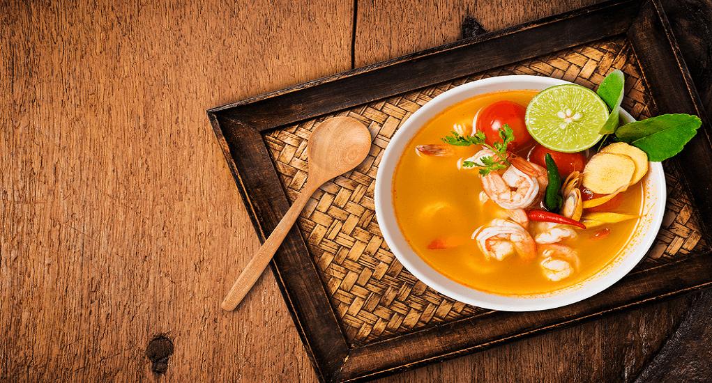 Makanan Khas Thailand - Tom Yam Sup