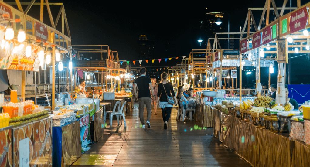 Malaysia ke Thailand - Charoen Krung