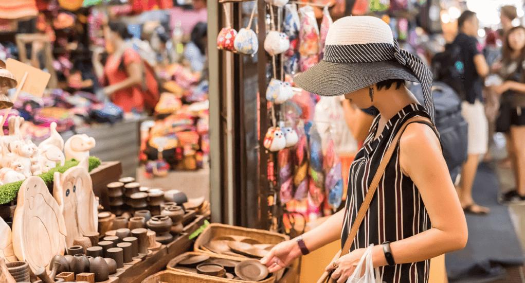 Malaysia ke Thailand - Chatuchak Market