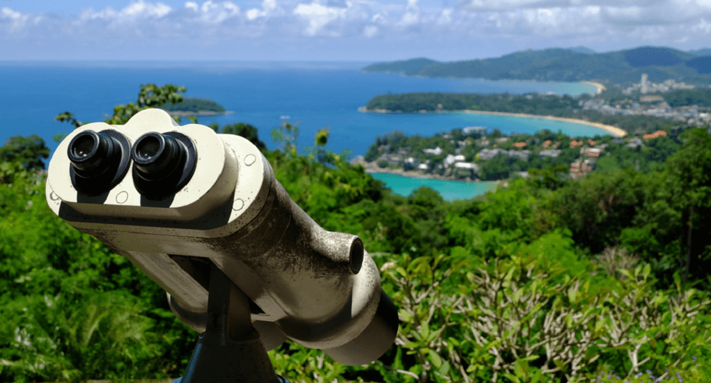 Malaysia ke Thailand - Karon View Point