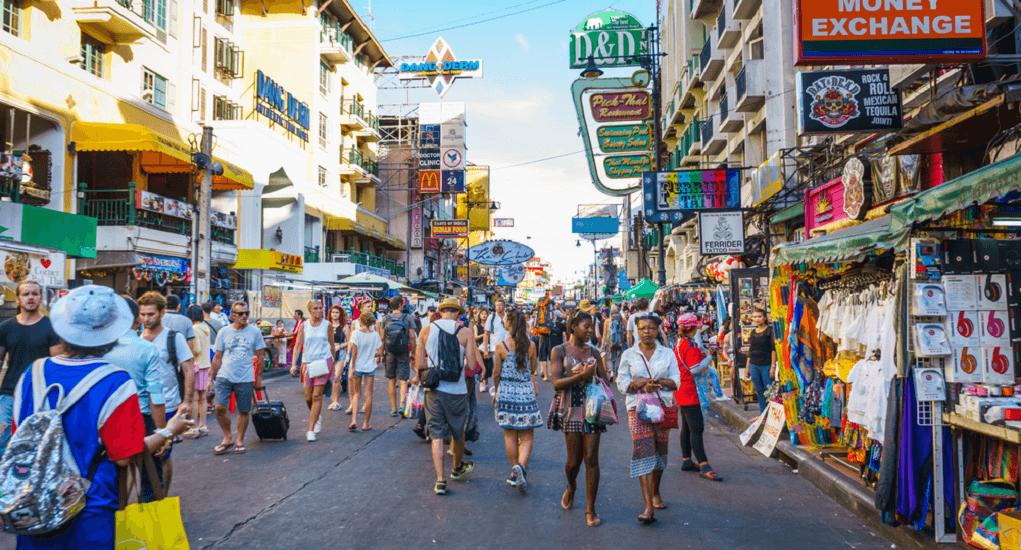 Malaysia ke Thailand - Khao San