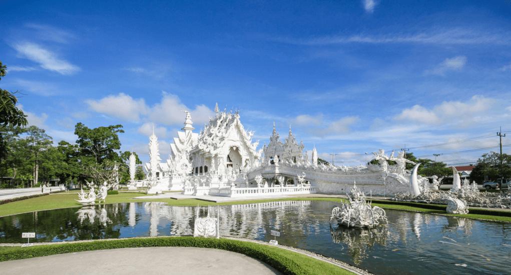 Malaysia ke Thailand - Kuil Putih (Wat Rong Khun)
