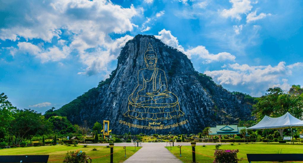 Malaysia ke Thailand - Laser Budha Mountain