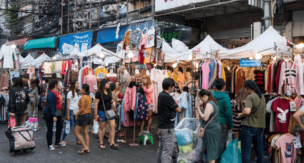 Malaysia ke Thailand - Pratunam Market