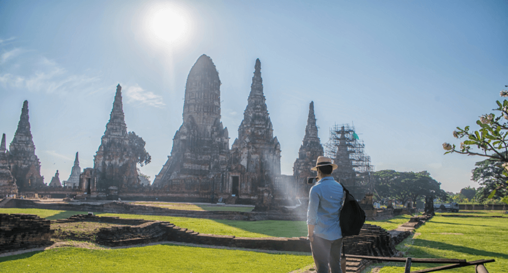 Malaysia ke Thailand - Wat Chaiwatthanaram