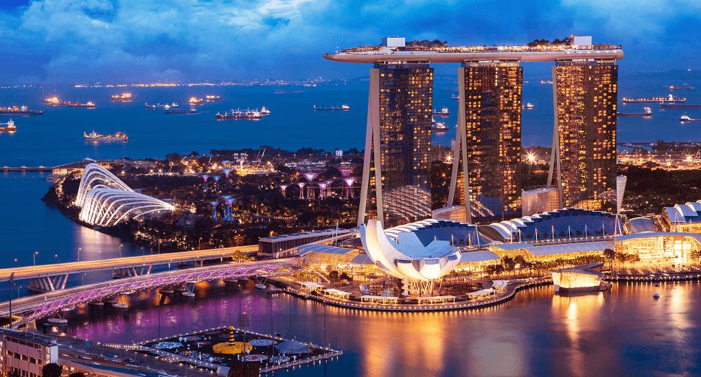 Akses Menuju Marina Bay Sand Singapura