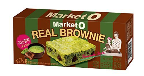 Market O Real Green Tea Brownie