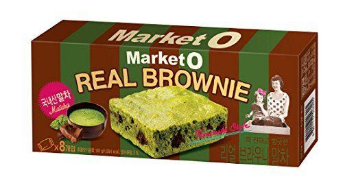 Market O Real Green Tea Brownie
