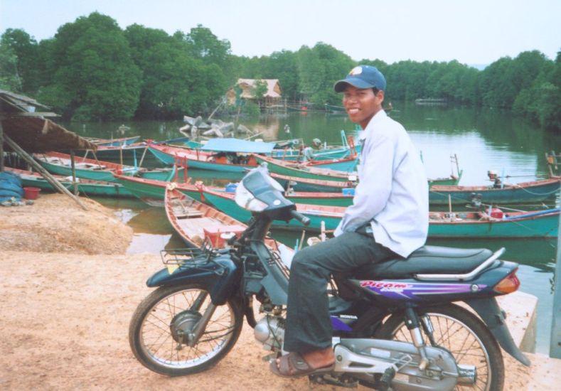Moto Taxi di Kamboja