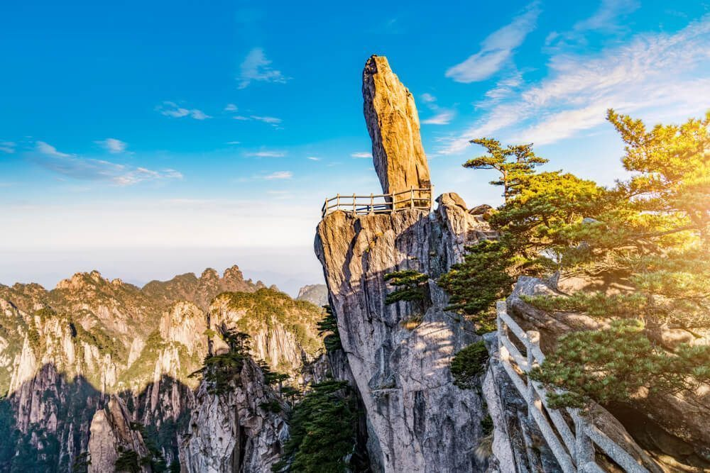 Climb the Yellow Mountain alone or with your loved ones