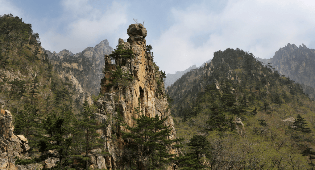 Mount Kumgang - About the Mountain